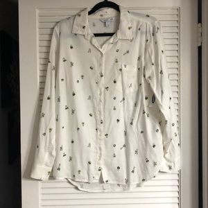 NWT Old Navy plant shirt